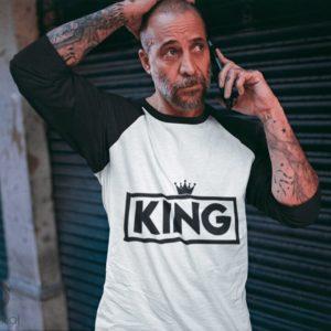 Playera para el rey de la casa (King)