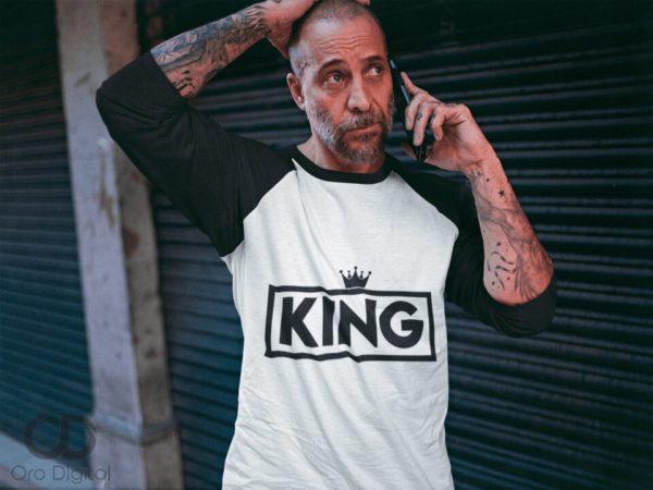 Playera para el rey de la casa King