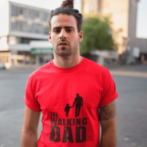 Playera the walking dad